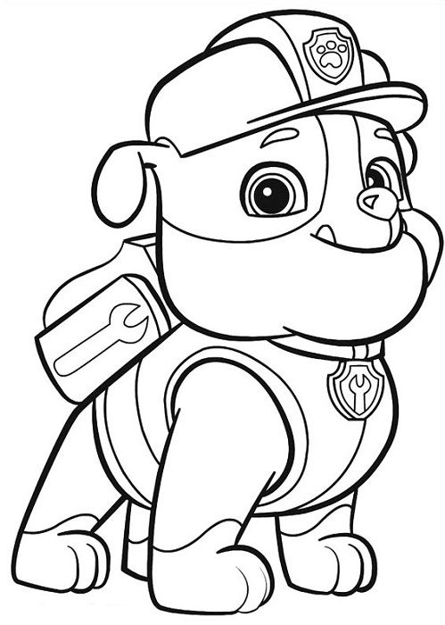 Coloriage et dessins Pat Patrouille (ou Paw Patrol ^^) | Coloriage paw patrol, Coloriage pat ...