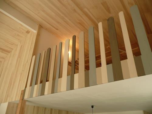 le Djoliba construction de notre maison en ossature bois ........................ 44°54.104 N - 00°30.313 E - Altitude 122 m