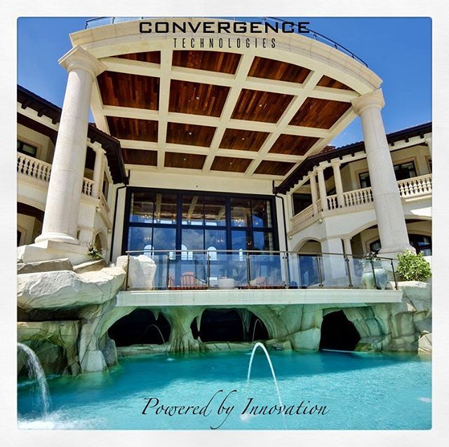 This absolutely amazing mansion in the cayman islands features @crestron home automation system managed by #convergencetechnologies No home to big no destination too far! #internationalprojects #homeautomation #crestron #durban #johannesburg #capetown #luxuryhomes #luxurylifestyle #smarthome #architecture