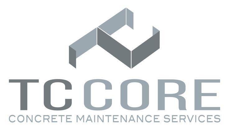 Logo design // TC Core Concrete Maintenance Services