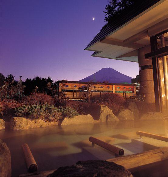 Onsen at Hotel Kanayamaen