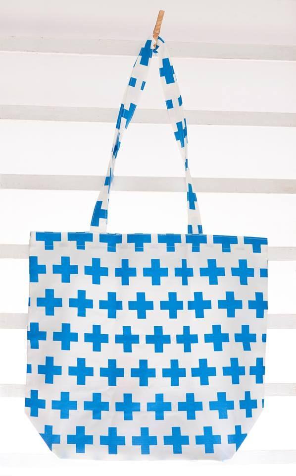 Handmade bag. #diy #clothes #sew #sewing #craft #craftoholic #textile #handmade #bag #cross #scandi