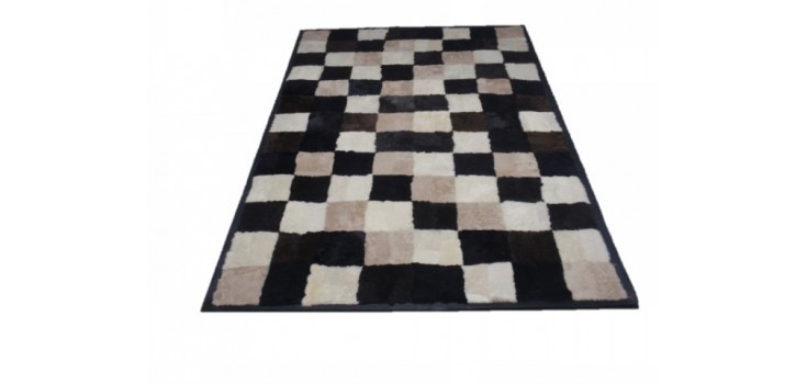 Furry rug from top quality sheepskin fur and sheep leather frame.     The ideal gift for you and your family.        All our rugs are made ​​with high quality fur and leather materials.  Use slip-resistant non-woven substrate and high tenacity yarn.        Experience over 40 years in creating fur products  is the biggest challenge that each rug is excellent  quality and impeccably styled up and what little detail.