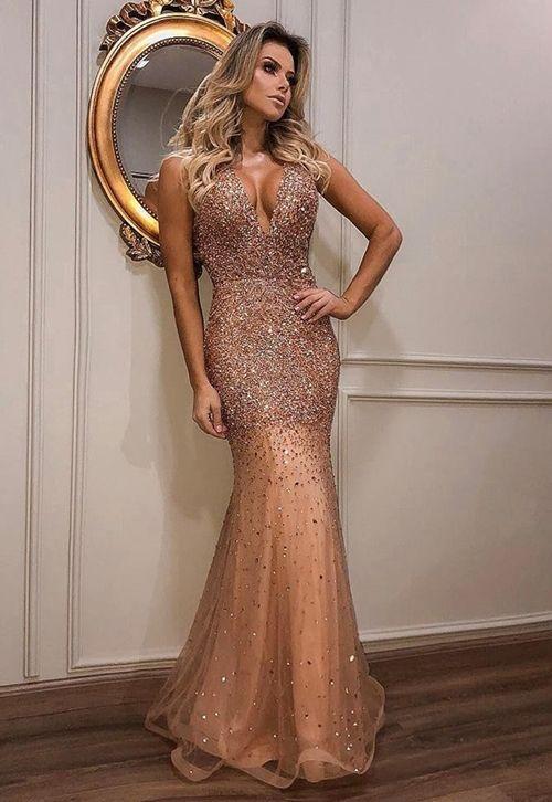 39033c7e19 Vestidos e dicas de como escolher vestido dourado para madrinha ...