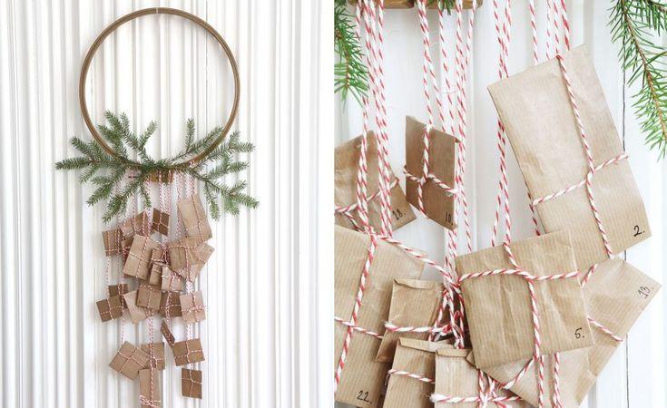 Hemmafix: Gör egen julkalender till barn – adventskalender, paketkalender eller uppskattningskalender