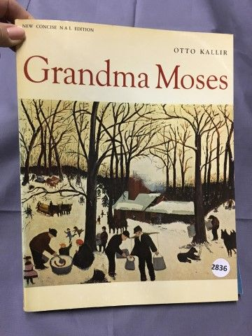 Gramma Moses By Otto Kallir