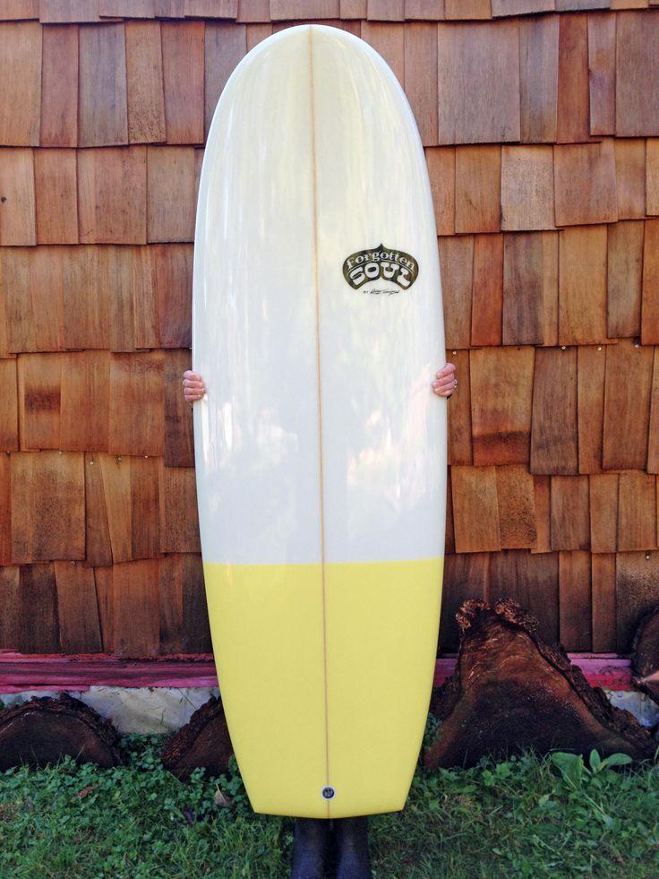 Mini Simmons 5'4 Twin keel fin setup  www.shop.ispysurf.com