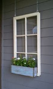Image result for use old windows for deck privacy screen