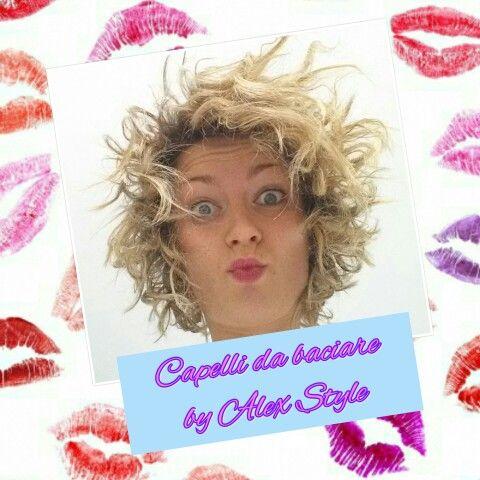 Oggi è il World Kiss Day: la Giornata Mondiale del Bacio! Solo da Alex Style ... capelli da baciare!   #worldkissday #kiss #kisses #kissday #giornatamondialedelbacio #capellidabaciare #capelli #hair #curlyhair #capellimossi #effettopizzicato #hairstyle #hairstylists #parrucchieri #acconciatori #onlythebest #blogger #blondehair #blondegirls #salon #Salonedibellezza #followme