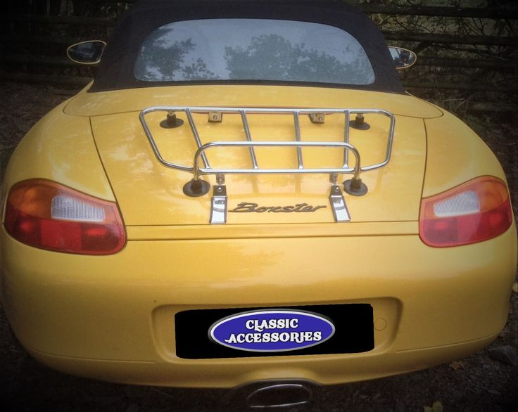 The Sports Taper Luggage Carrier for the Porsche Boxster 986, 987 and 981 variants.