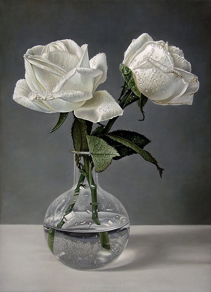 Delicate-hyper-realistic-paintings-of-roses-by-Gioacchino-Passini-04.jpg (695×960)