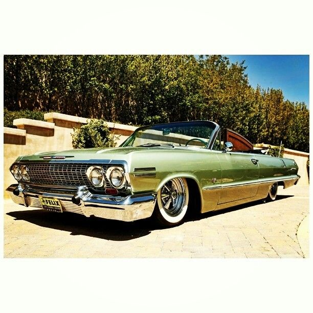 '63 Chevy Impala......Re-pin...Brought to you by #HouseofInsurance for #CarInsurance #EugeneOregon