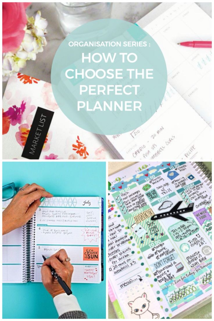How to choose your Perfect Planner!