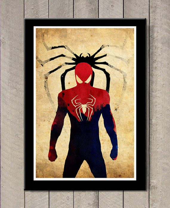Hey, I found this really awesome Etsy listing at https://www.etsy.com/listing/182728176/minimalist-superhero-poster-spiderman
