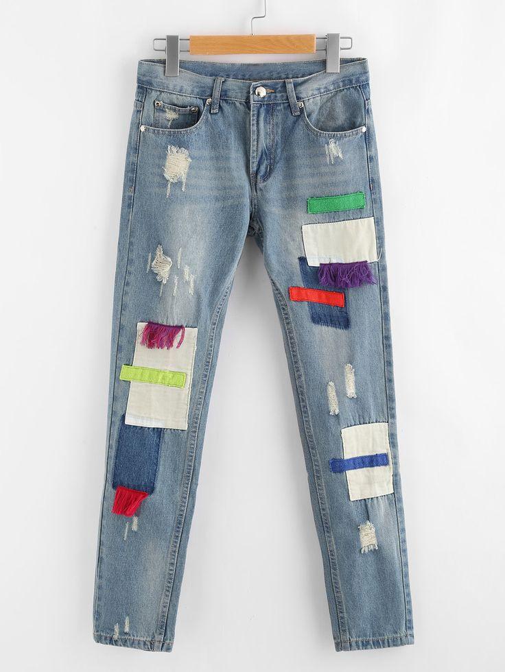 аппликации на джинсы фото красящий состав