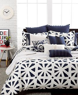 9 Best Bedding With Contrast Images On Pinterest