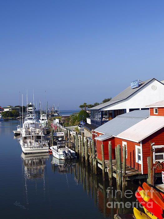 Shem Creek ,Mount Pleasant, South Carolina Cross this each day going to work
