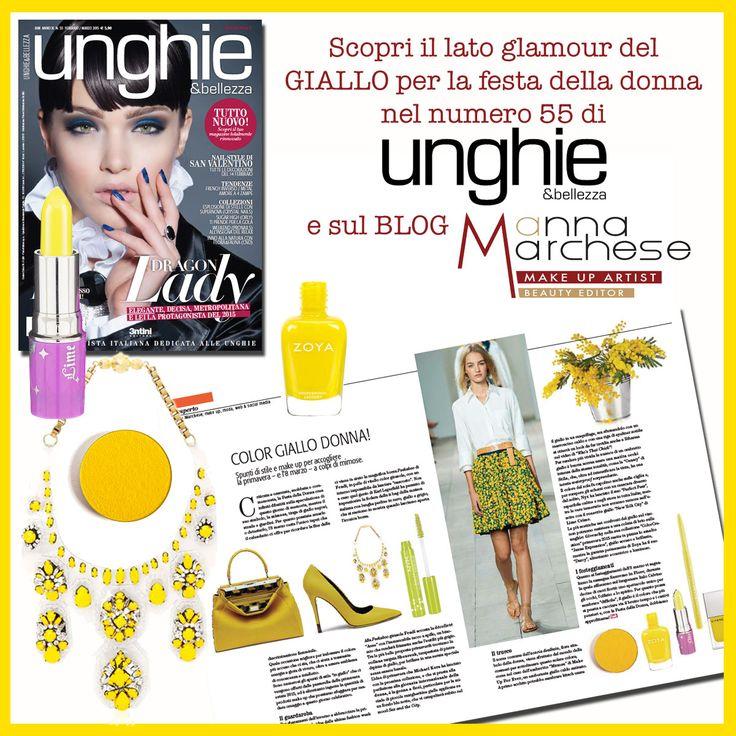 #makeup #borse #scarpe #gioielli #smalti #rossetti #ombretti #matite #gloss #tacchi #giallo #unghieebellezza #annamarchesemua