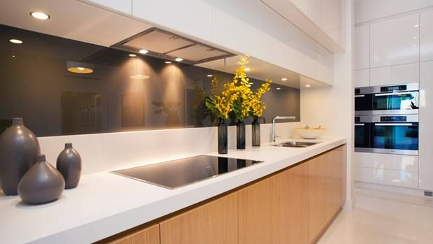 Streamline your appliances in the kitchen to keep a contemporary look...