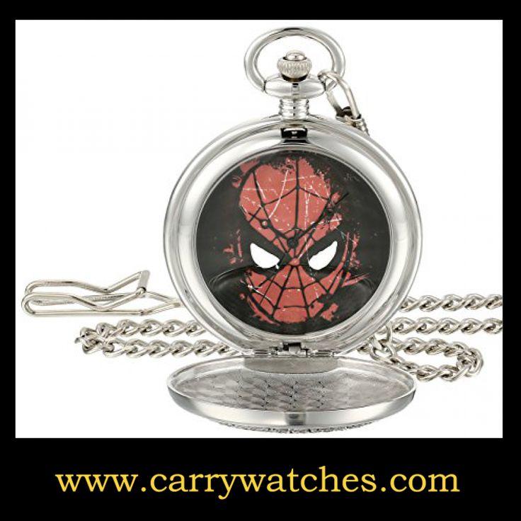 Marvel Men's W001746 Spider-Man Analog-Quartz Pocket Watch https://www.carrywatches.com/product/marvel-mens-w001746-spider-man-analog-quartz-pocket-watch/ Marvel Men's W001746 Spider-Man Analog-Quartz Pocket Watch