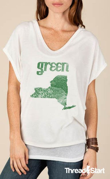 ThreadStart | Help Fund Environmental Advocates of New York with Style! $8 of every item sold goes to support Environmental Advocates of New York - a nonprofit organization that fights to protect land, air, waterways, wildlife and the health of New York!