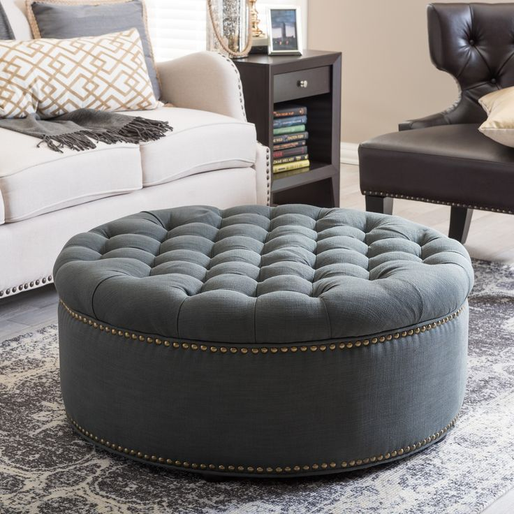 Ottomans Kick up your feet and rest