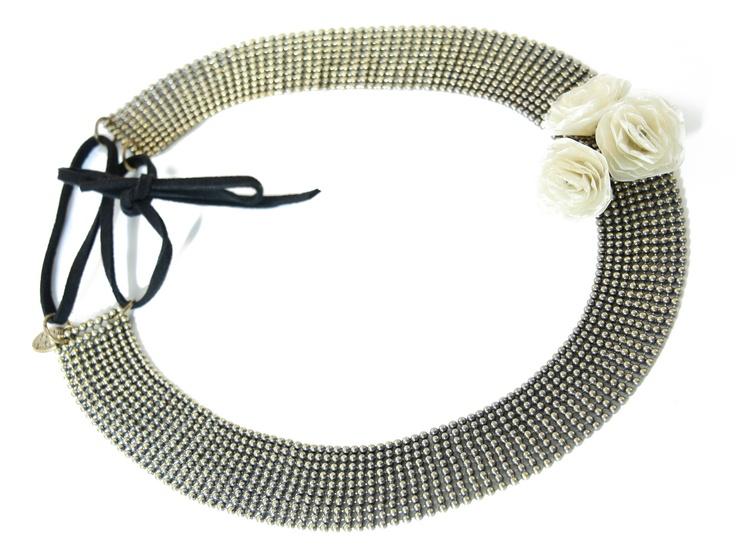 Brigitte - Headband maille blanc  L'Atelier des Dames  http://www.eboutique.latelierdesdames.fr