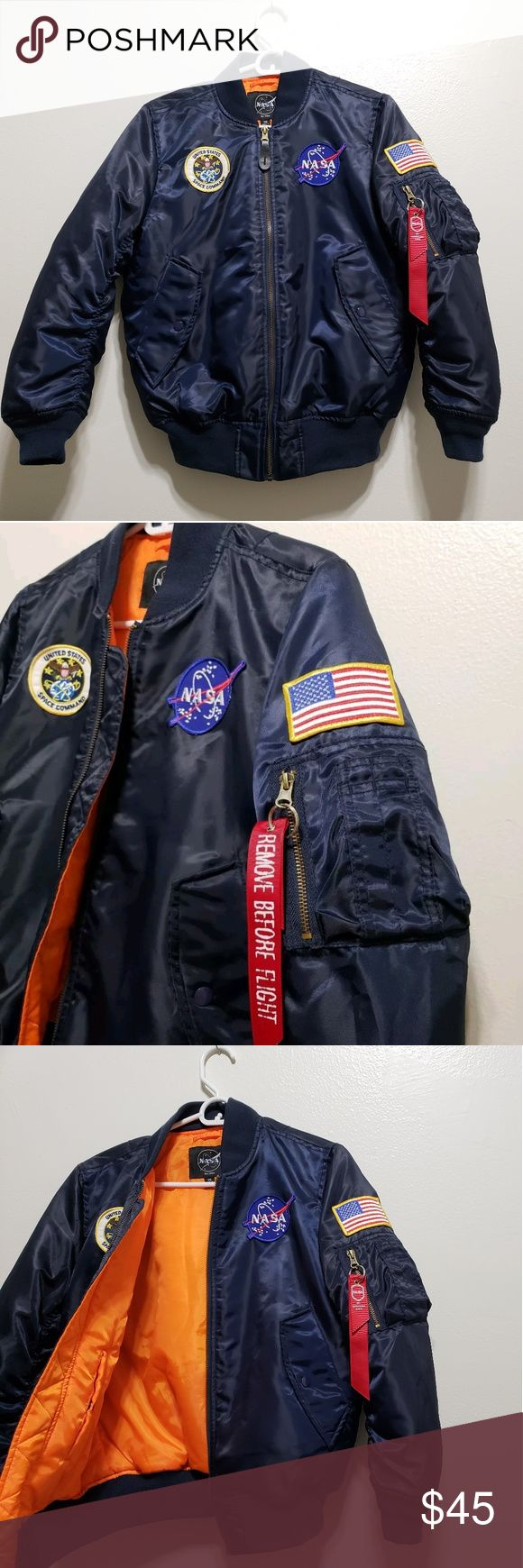 NASA MA1 Flight / Bomber Jacket YM NASA Jacket in used