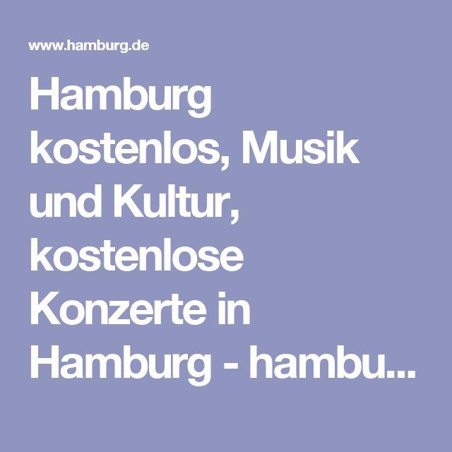 Hamburg kostenlos, Musik und Kultur, kostenlose Konzerte in Hamburg - hamburg.de