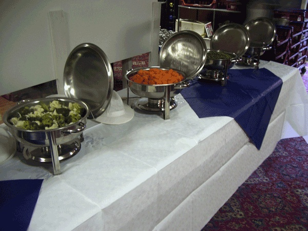 Three Course Meal Catering Services Sunderland