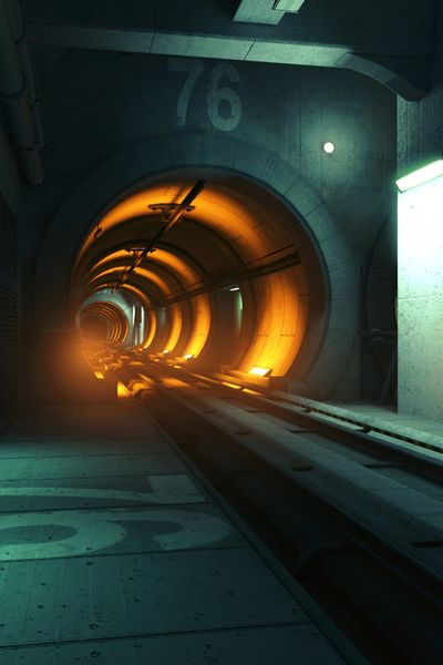 One of over 100 Thorus Rocket Pod Terminus ports leading into Grand Central, Big Junction (Mars, Corporate Era).