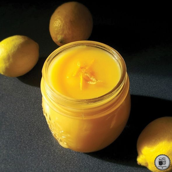 Χειροποίητη κρέμα λεμονιού (lemon curd)