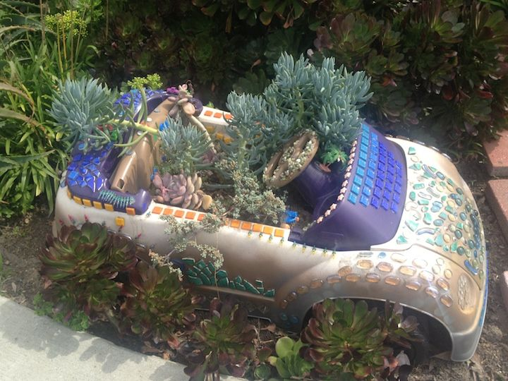 Gnome In Garden: 284 Best Mini Garden Design Ideas Images On Pinterest