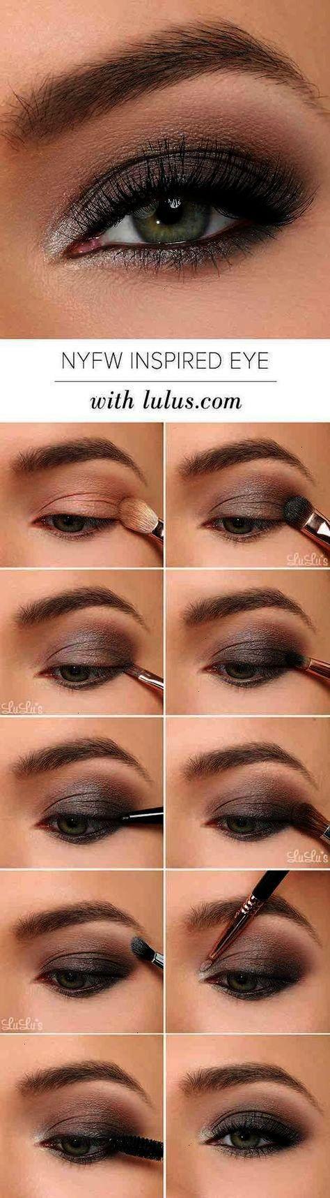 Makeup for black dress green eyes   makeup tutorials for green eyes  amazing green eye makeup