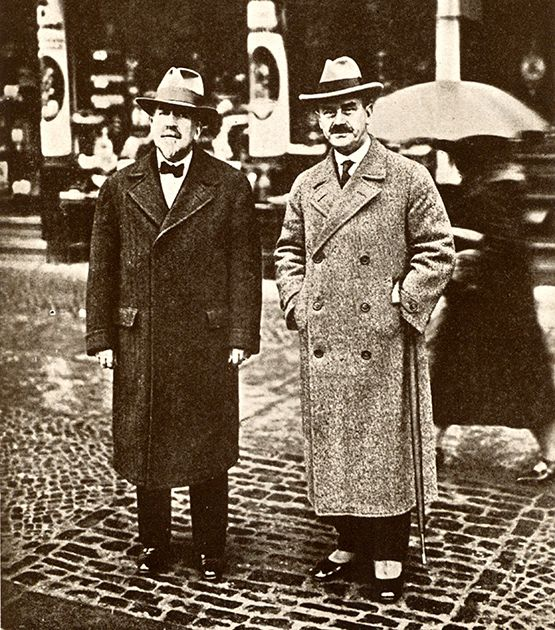 Thomas and Heinrich Mann