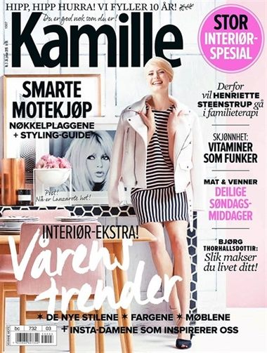 Abonner på Kamille fra Bladkongen. Om denne nettbutikken: http://nettbutikknytt.no/bladkongen-no/