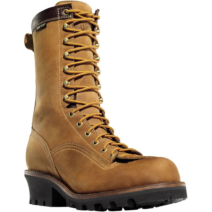 14574 Danner Men S Quarry Gtx Safety Loggers Brown