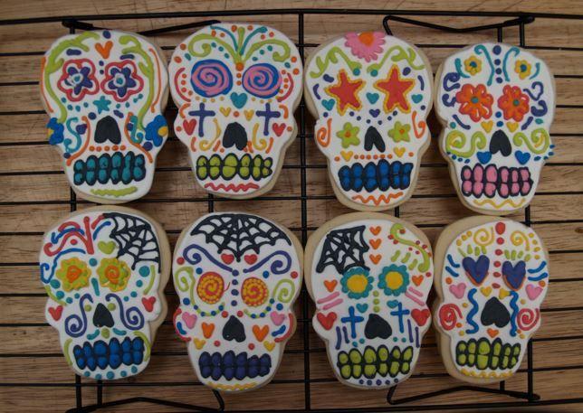 dayofthedead sugar skulls