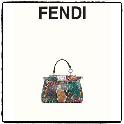 FENDI ハンドバッグ 16-17AW 国内発 関税込 FENDI マイクロ ピーカブー(2)