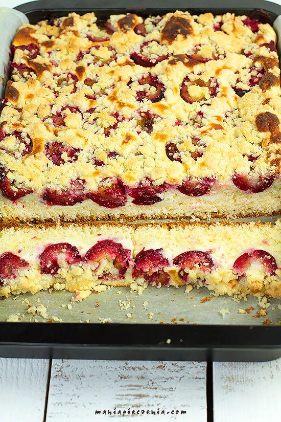 Ciasto drożdżowe z serem i śliwkami / Plum & Cheese Yeast Cake