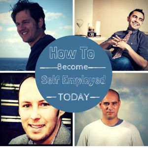 Check out this amazing interview about how to become self employed, featuring top bloggers Pat Flynn, Corbett Barr, Leo Babauta, and David Risley.