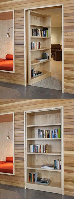 #Puerta secreta #mueble_multifuncional #multifunctional_furniture