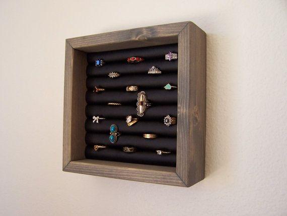 Ring Collection Ring Organizer Wall Hanging Ring Holder