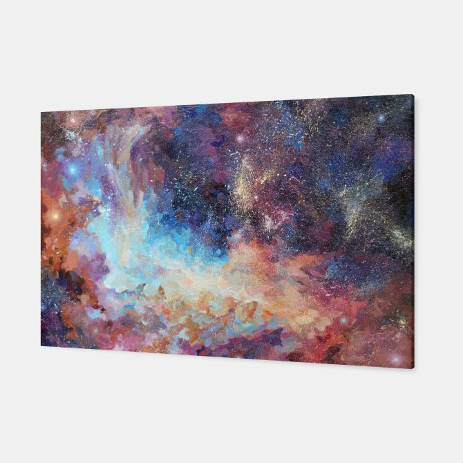 """Birth of stars"" Canvas"