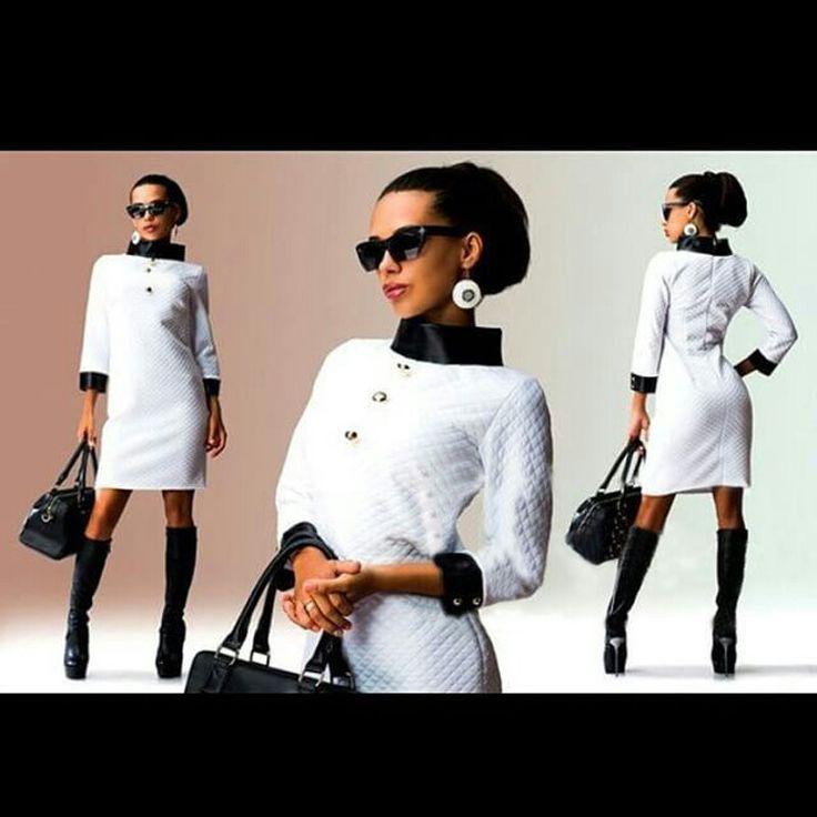 SEXXII BLACK AND WHITE  DRESS PRICE 48.97