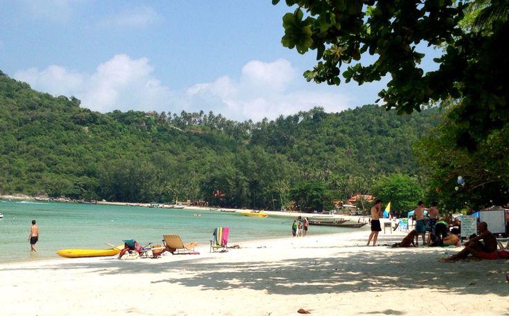 Beach at Thong Nai Pan Yai, Koh Phangan, Thailand