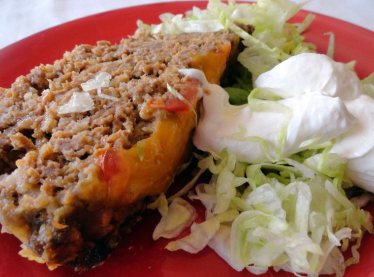 Taco Meatloaf: Tacos Meatloaf, Tortillas Chips, Sour Cream, Maine Dishes, Mexicans Food, Taco Meatloaf, Meat Loaf, Favorite Recipes, Meatloaf Recipes
