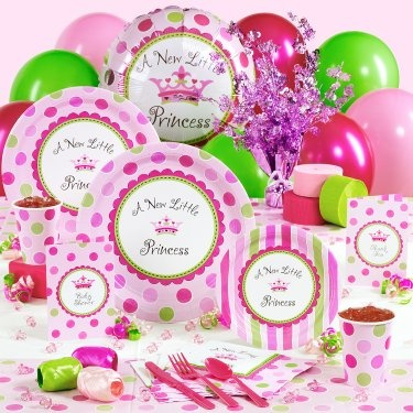 A New Little Princess Baby Shower Deluxe Party Kit