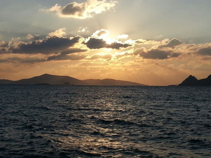 Magnificient Sunset in Turgutreis