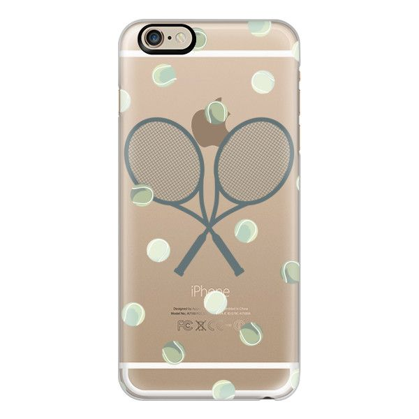 iPhone 6 Plus/6/5/5s/5c Case - Tennis love ($40) ❤ liked on Polyvore featuring accessories, tech accessories, iphone case, iphone cover case, slim iphone case and apple iphone cases
